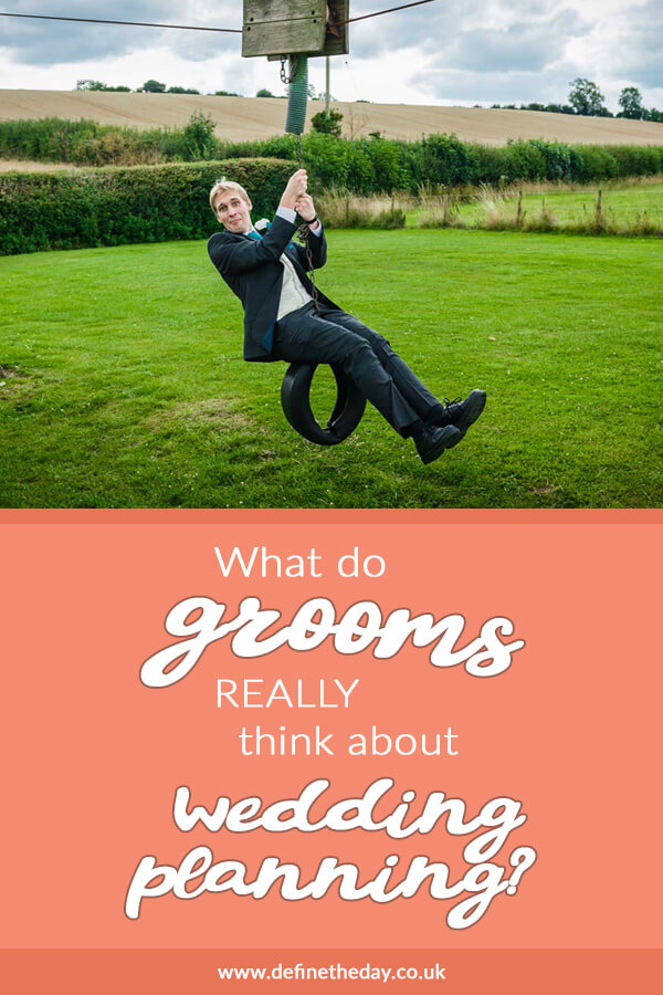 Planning a wedding from the groom's perspective