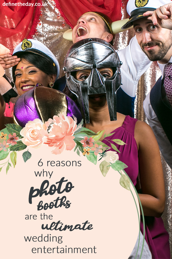 Why your wedding needs a photo booth
