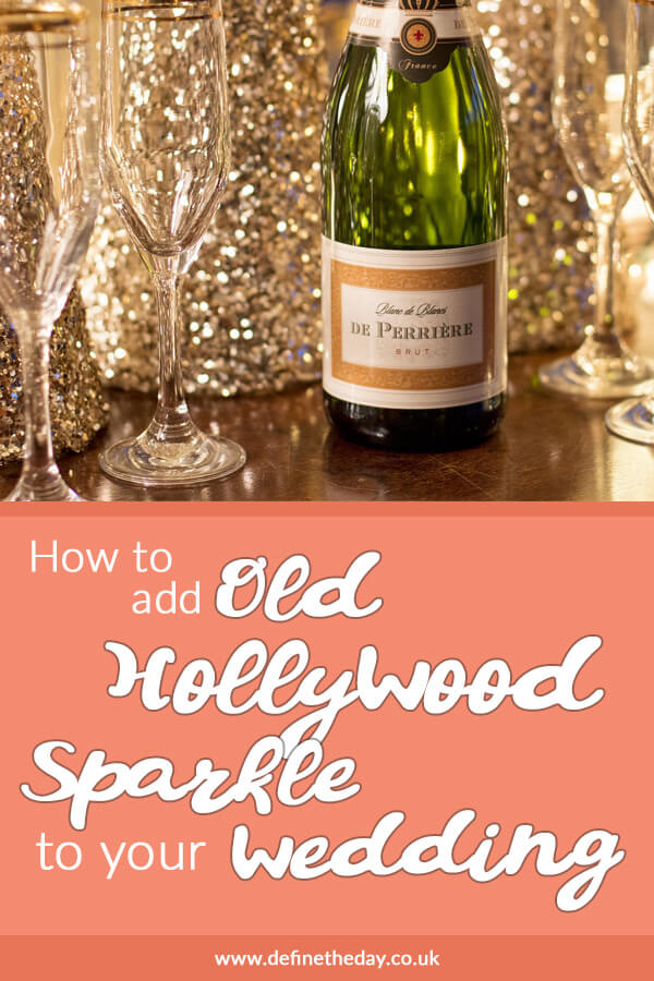 The Great Gatsby! How to add Old Hollywood Glamour to your Wedding