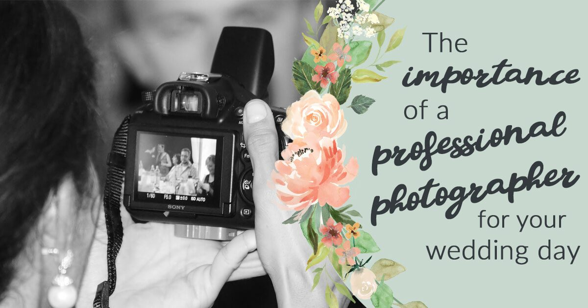 How to hire a professional wedding photographer