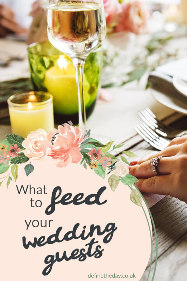 What should you feed your wedding guests?